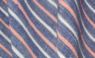 Organic Striped Fabric