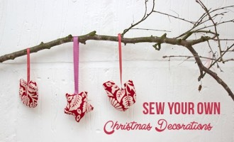 sew your own decorations