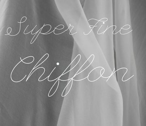 super fine chiffon