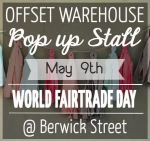 World Fairtrade Day Pop Up Stall