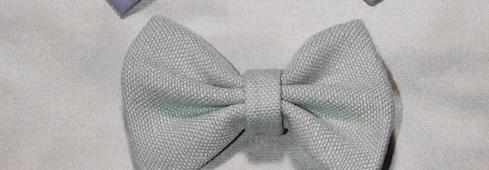Zero waste fabric pattern ideas bow
