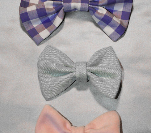 Zero waste fabric pattern ideas bow