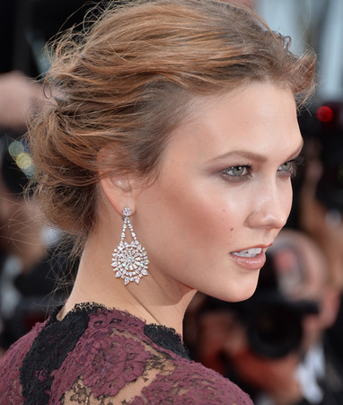 Karlie Kloss Chopard Earrings sustainable
