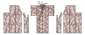 Zero Waste Kimono Pattern