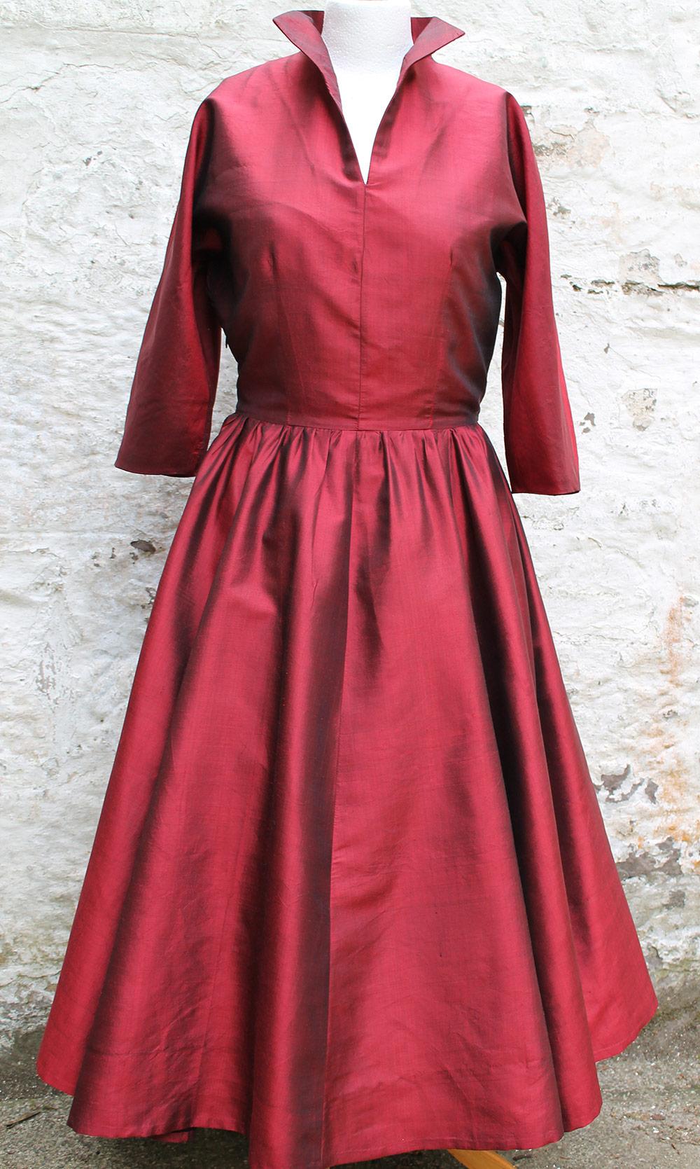 Ethical Silk Taffeta Dress