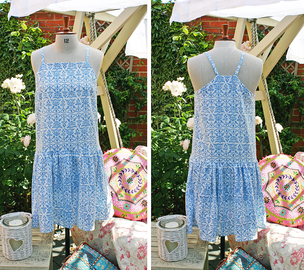Sewing Fairtrade Muslin Dress
