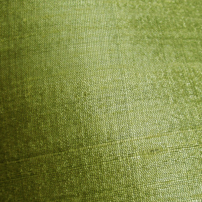 Green Lime Raw Silk