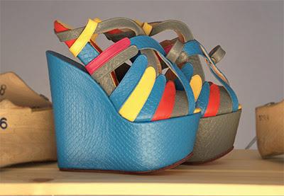 Ethical footwear designer Valentini Argyropoulou's work